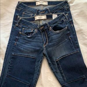 Abercrombie and Fitch- blue jeans